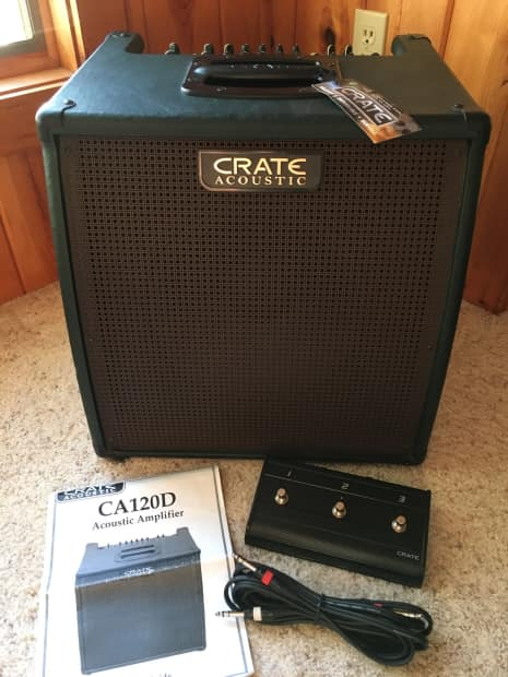 crate ca120dg forest green w nice cover pedal chord reverb. Black Bedroom Furniture Sets. Home Design Ideas