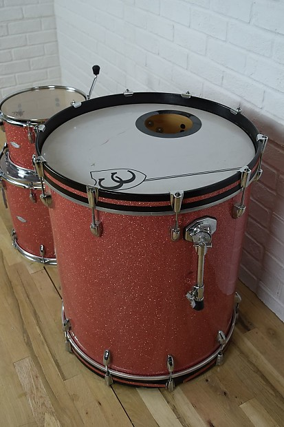 c c custom maple shell drum set kit excellent 24 deep reverb. Black Bedroom Furniture Sets. Home Design Ideas