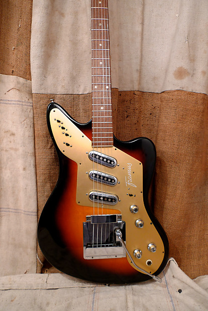 framus strato deluxe 1960 39 s sunburst reverb. Black Bedroom Furniture Sets. Home Design Ideas