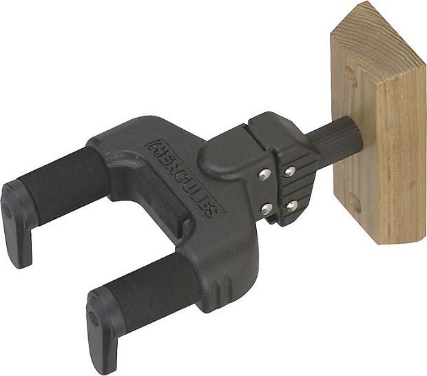 hercules wood wall mount guitar hanger reverb. Black Bedroom Furniture Sets. Home Design Ideas