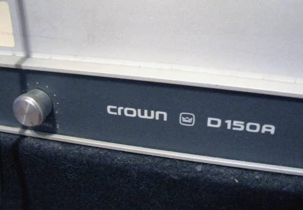 crown d150a power amp reverb. Black Bedroom Furniture Sets. Home Design Ideas