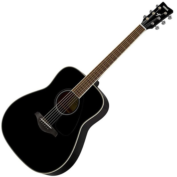 Yamaha fg820 acoustic guitar black stage essentials for Yamaha fg820 review