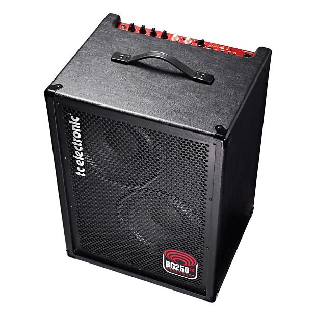 tc electronic bg250 210 bass combo amplifier 250 watts reverb. Black Bedroom Furniture Sets. Home Design Ideas