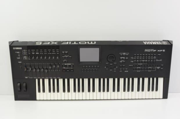 Yamaha motif xf6 61 key workstation keyboard w gig bag xf for Yamaha motif keyboard