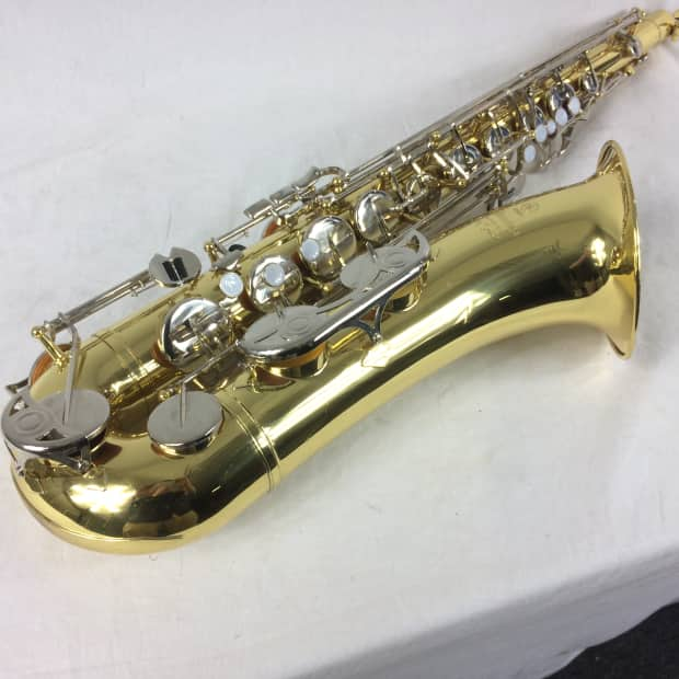 Yamaha yts 200ad tenor saxophone with case and mouthpiece for Yamaha saxophone mouthpiece chart