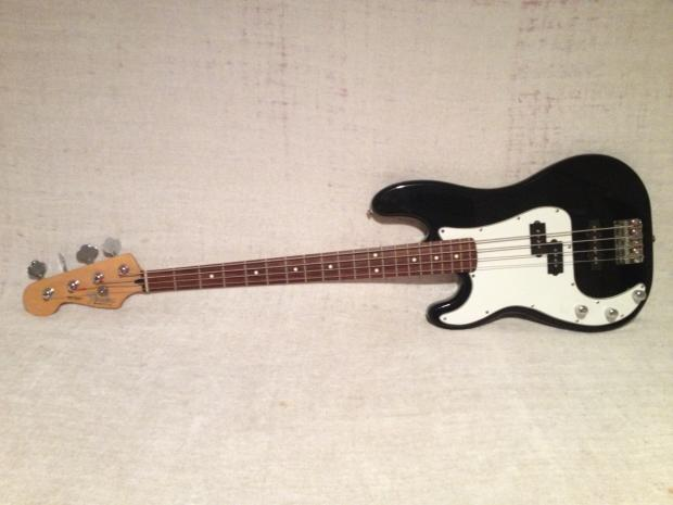 fender lefty precision special p bass squier body with 2002 mexico neck left hand reverb. Black Bedroom Furniture Sets. Home Design Ideas