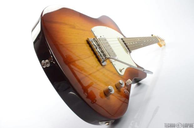 buzz feiten elite pro electric guitar sunburst rosewood w reverb. Black Bedroom Furniture Sets. Home Design Ideas