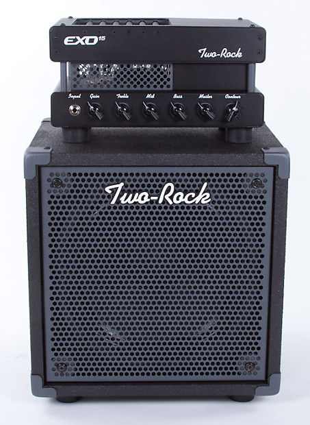 two rock exo 15 guitar amp head 1x12 speaker cabinet reverb. Black Bedroom Furniture Sets. Home Design Ideas