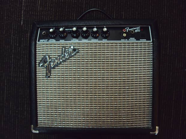 fender frontman 15g guitar amplifier combo for repair reverb. Black Bedroom Furniture Sets. Home Design Ideas