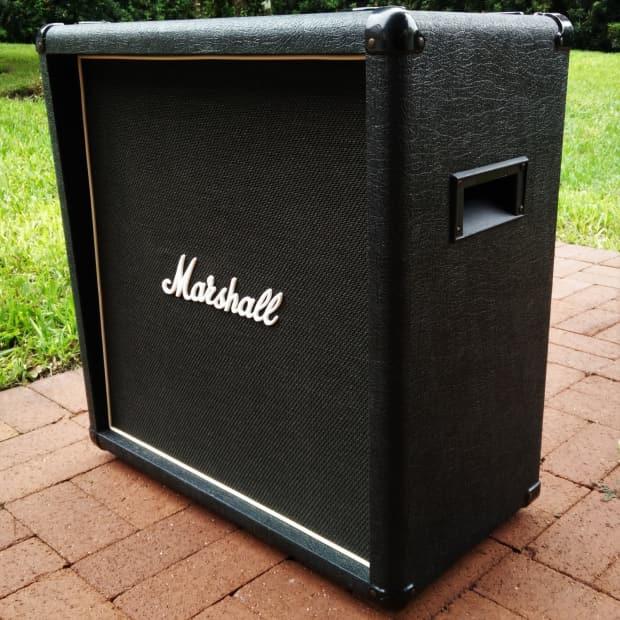 marshall 1965b 4x10 guitar speaker cabinet vintage 1980 39 s reverb. Black Bedroom Furniture Sets. Home Design Ideas