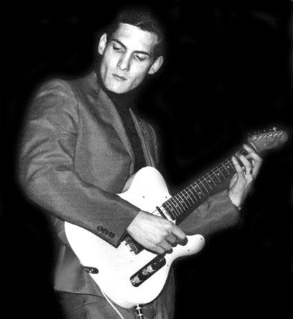 Steve Cropper with his Telecaster