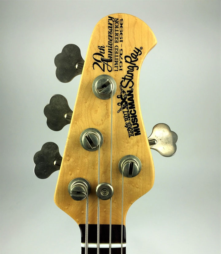 StingRay 3+1 Headstock