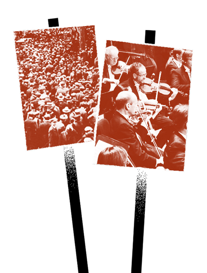 When Orchestras Strike: The Recent History of Orchestral
