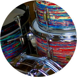 Iconic Vintage Drum Finishes