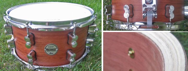 PDP 20 Ply Bubinga Maple Snare Drum