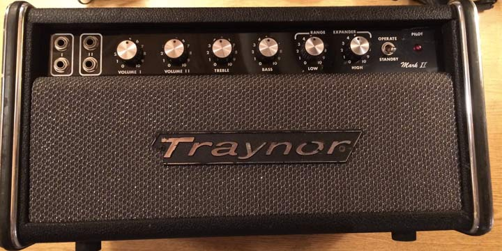 Vintage traynor amplifiers advise you