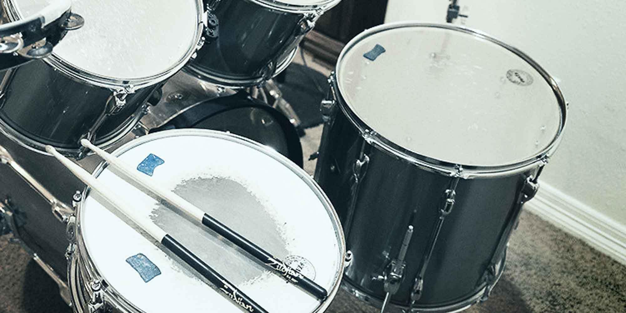 choosing your first drum set reverb news. Black Bedroom Furniture Sets. Home Design Ideas