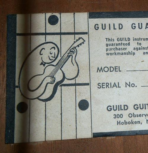 Guild guitars dating