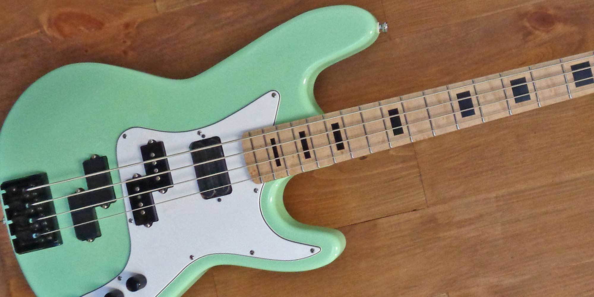 The majority of bassists tend to be more complacent about the instruments  they acquire. This could ...