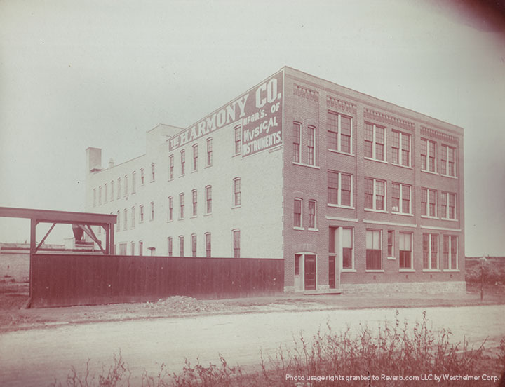 Take a Photo Tour of the 1904 Harmony Instrument Factory