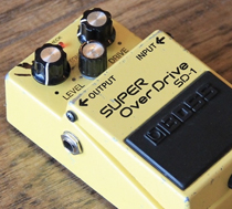 Joe Walsh Boss SD-1 Super Overdrive