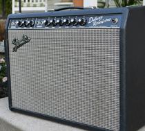 Bernie Leadon Fender Deluxe Reverb Amp