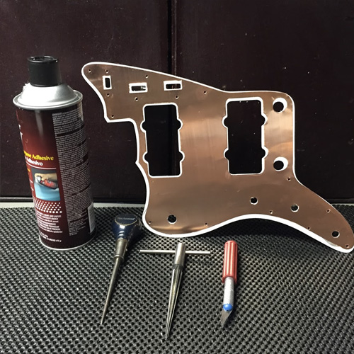 upgrading jazzmaster electronics unleash the potential of reverb copper shield applied to jazzmaster