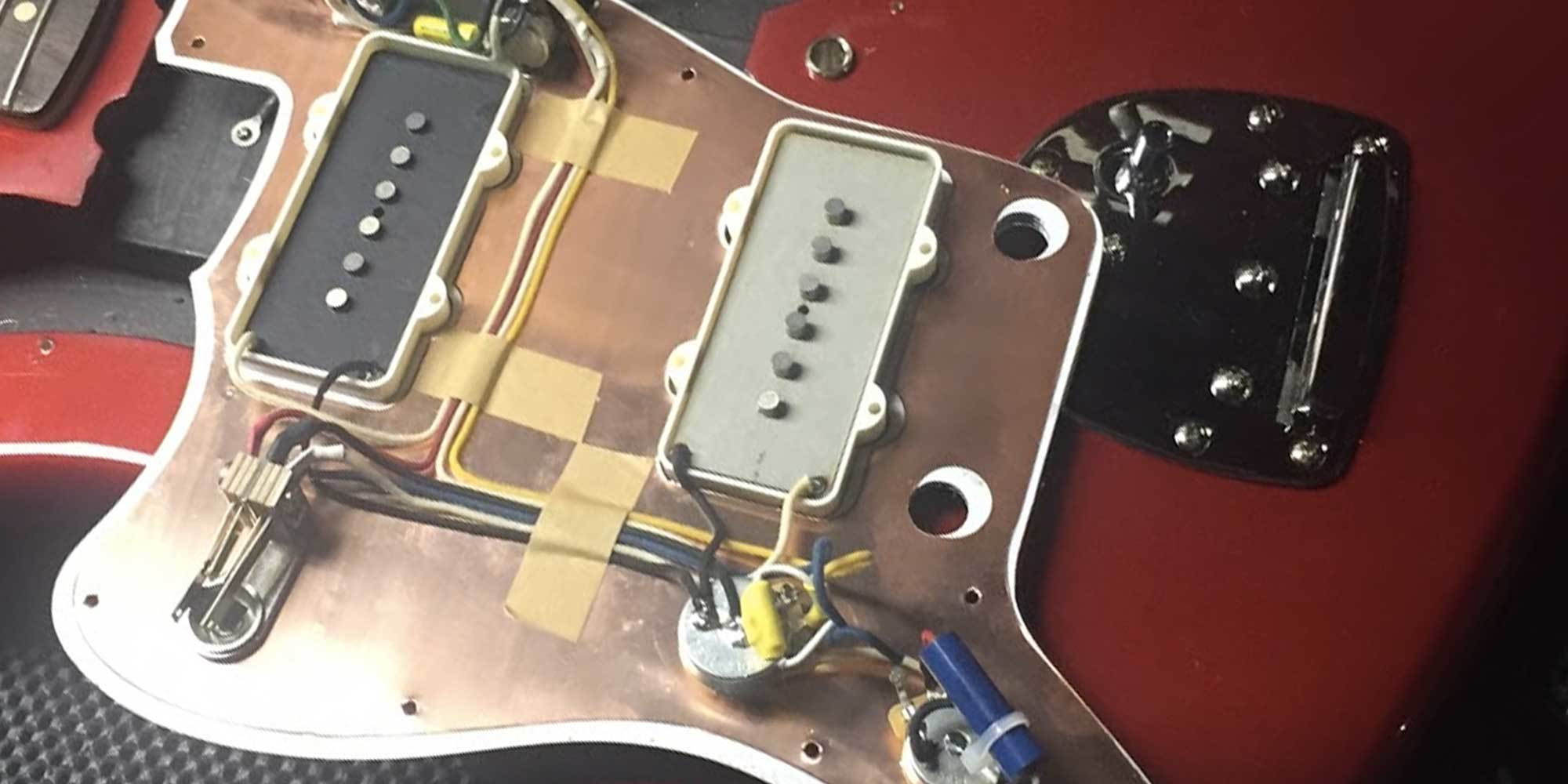upgrading jazzmaster electronics unleash the potential reverb news rh reverb com fender jazzmaster pickup wiring fender blacktop jazzmaster wiring diagram