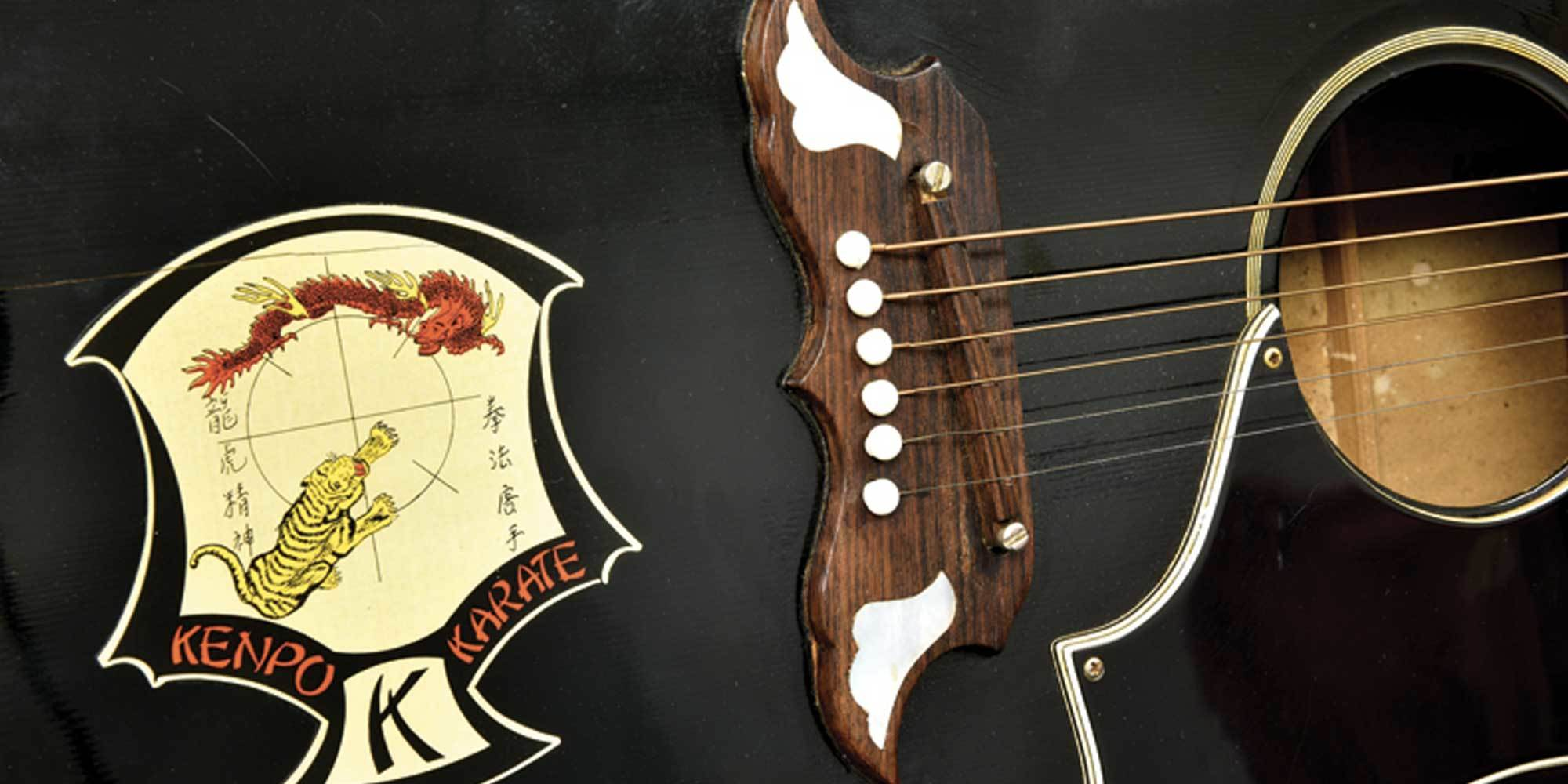 Elvis Presley's Gibson Ebony Dove Fails to Sell | Reverb News