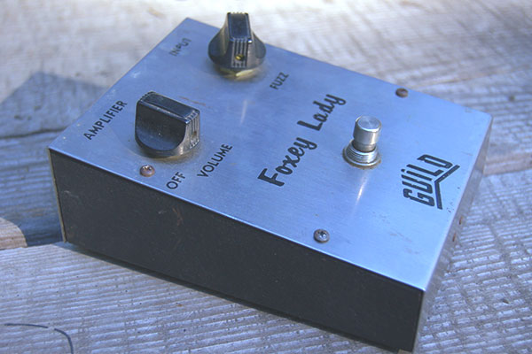 '68 Guild Foxey Lady Fuzz, produced by Mike Matthews of EHX