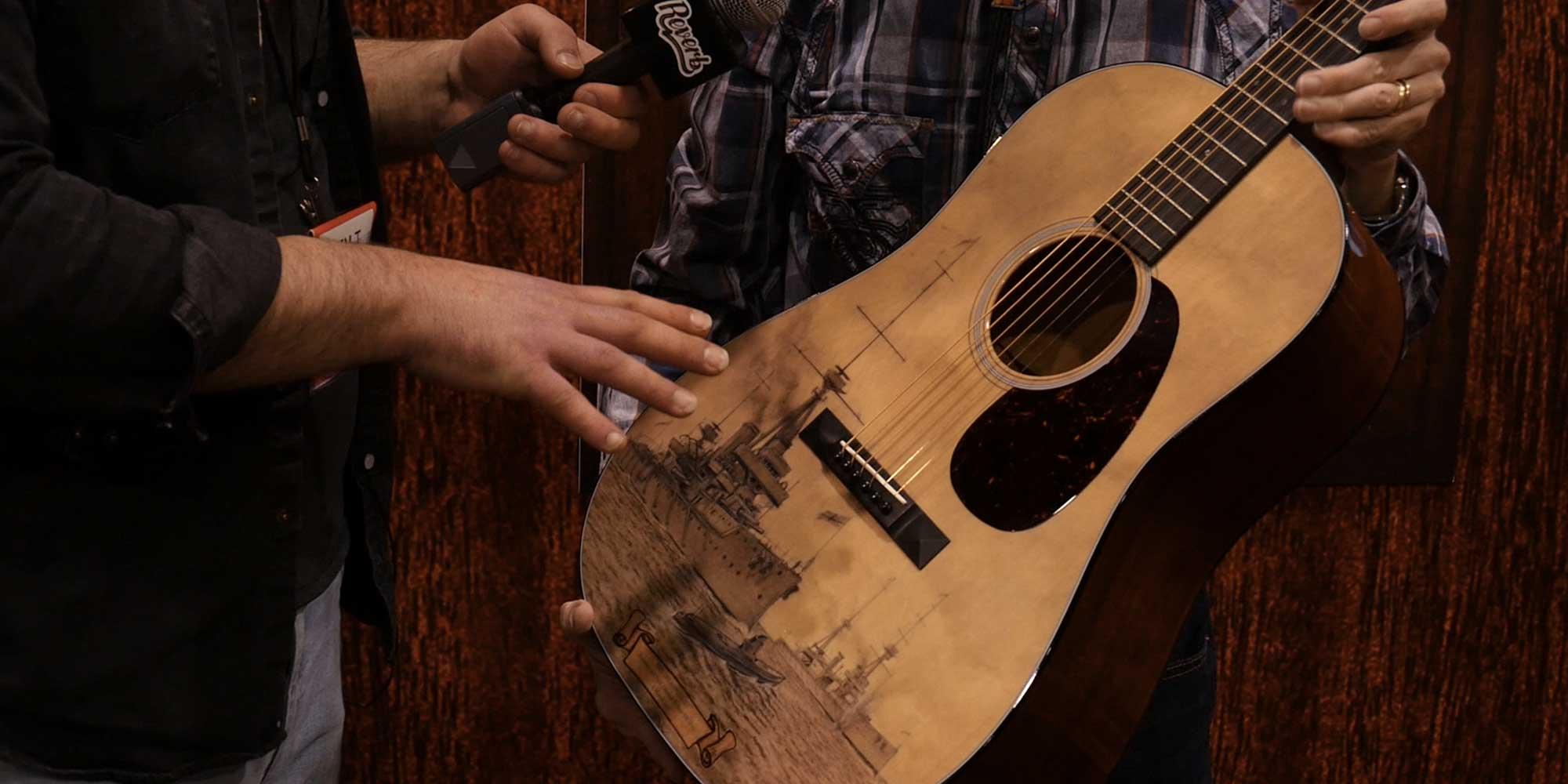 Chris Martin talks Dreadnoughts and Martin Guitar History