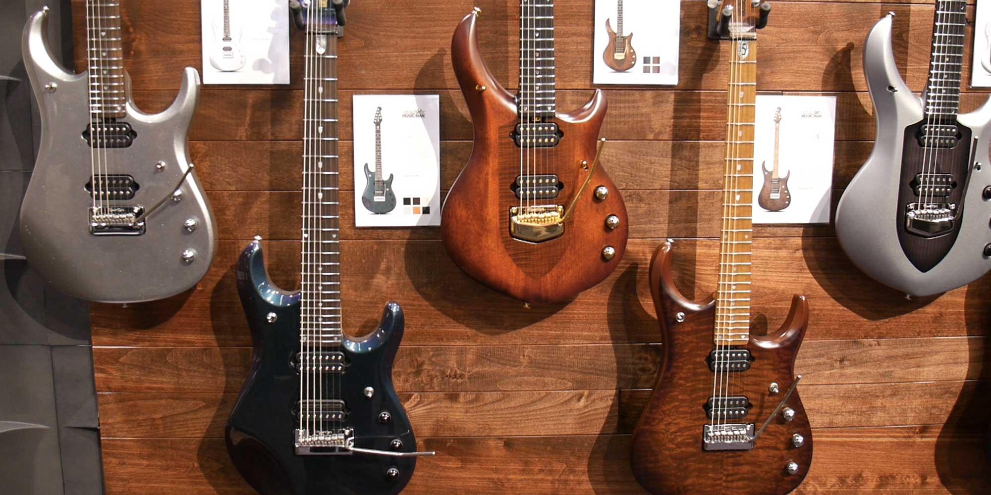 John Petrucci Music Man Signature Guitars