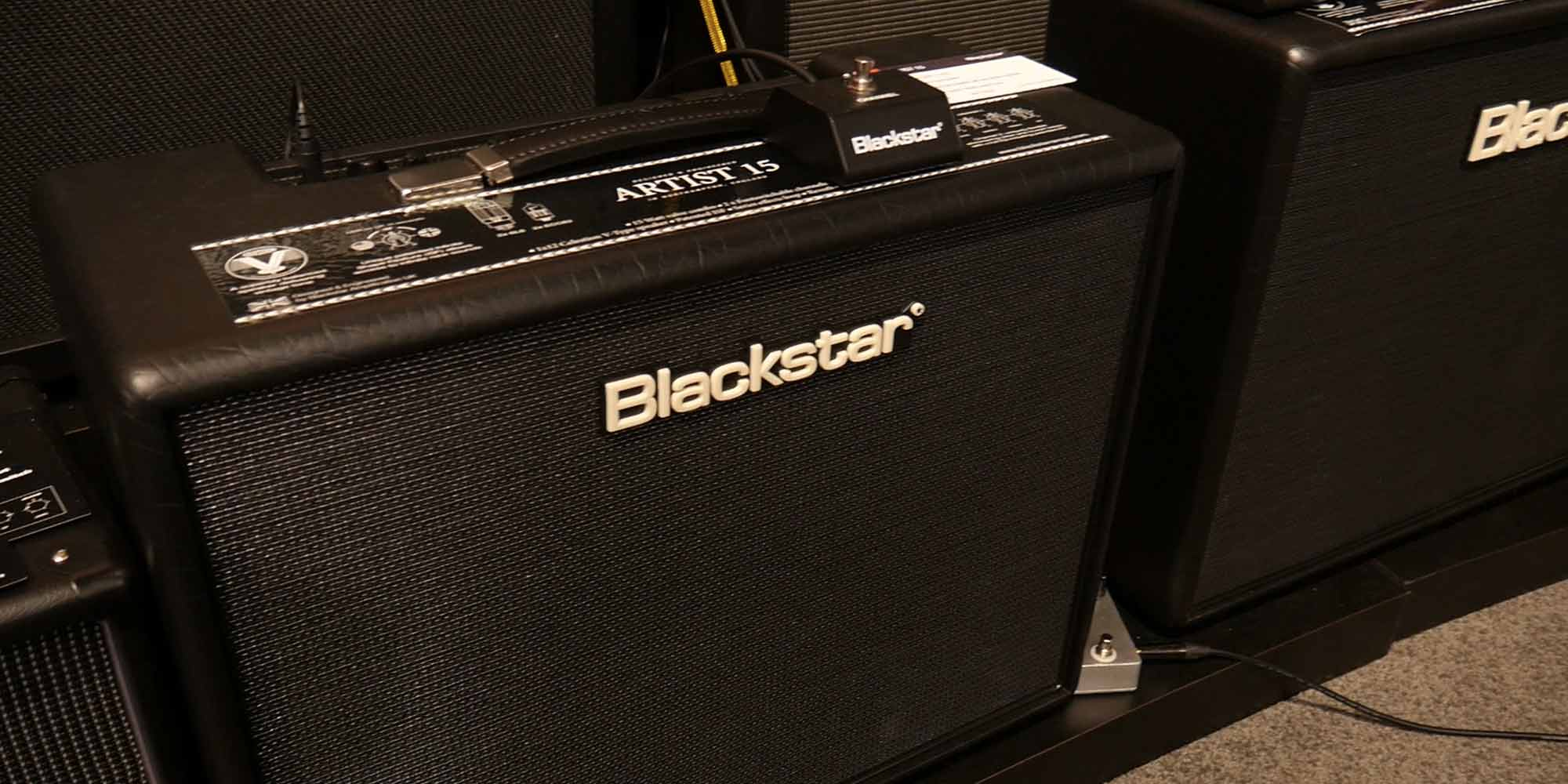 Blackstar Artist Series 15 and 30
