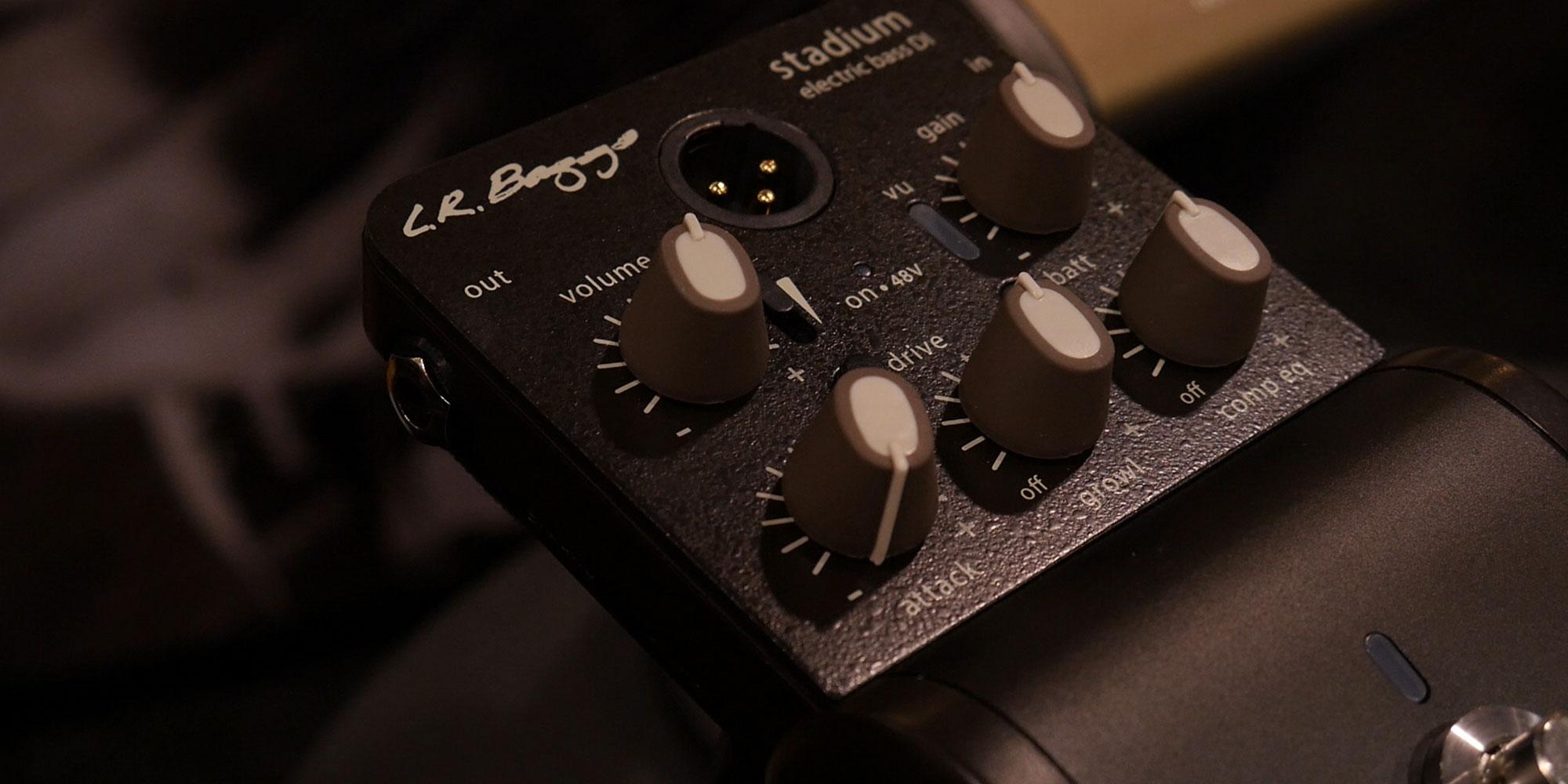 LR Baggs Stadium Electric Bass DI
