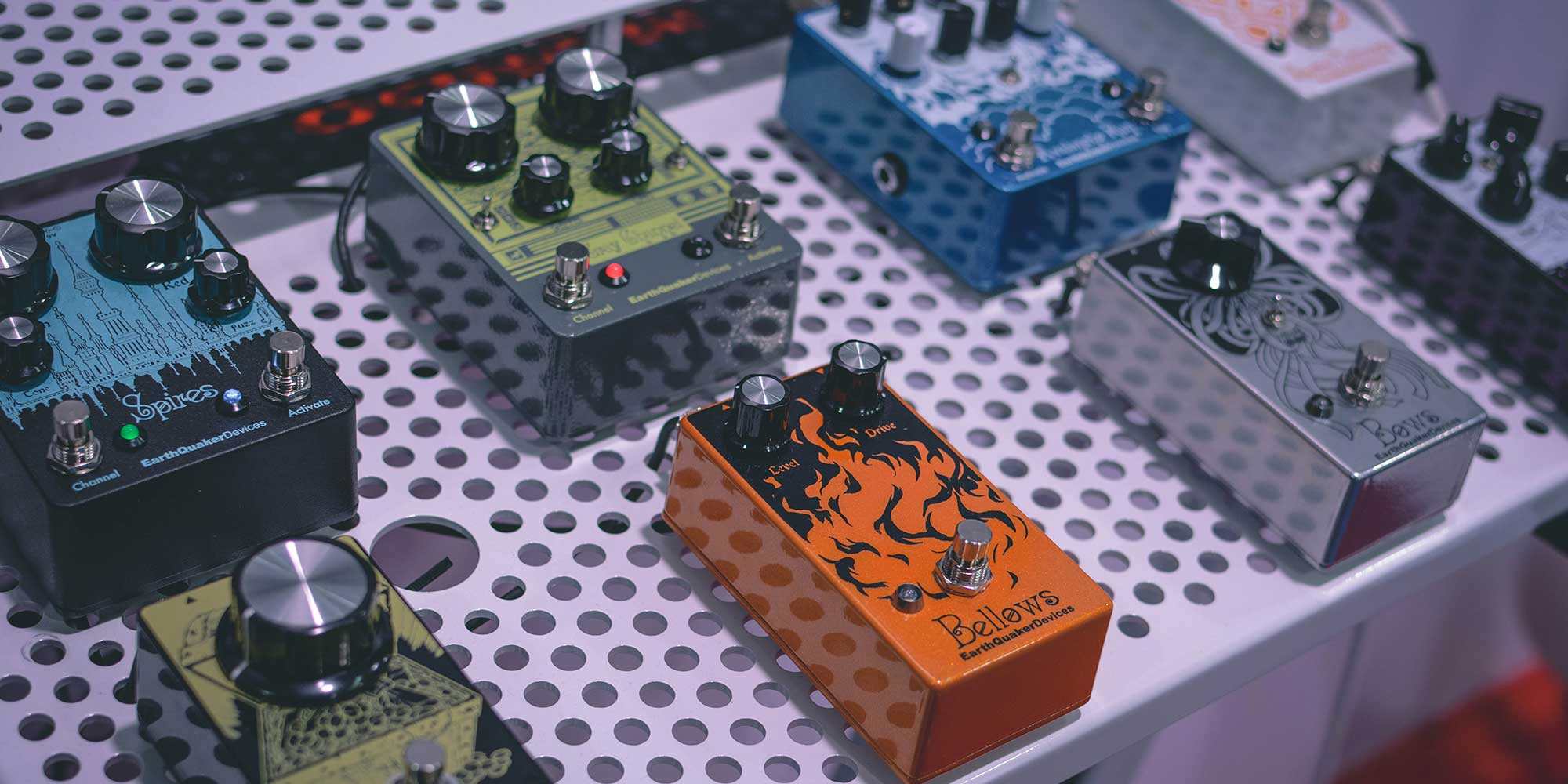 New Earthquaker Devices Pedals