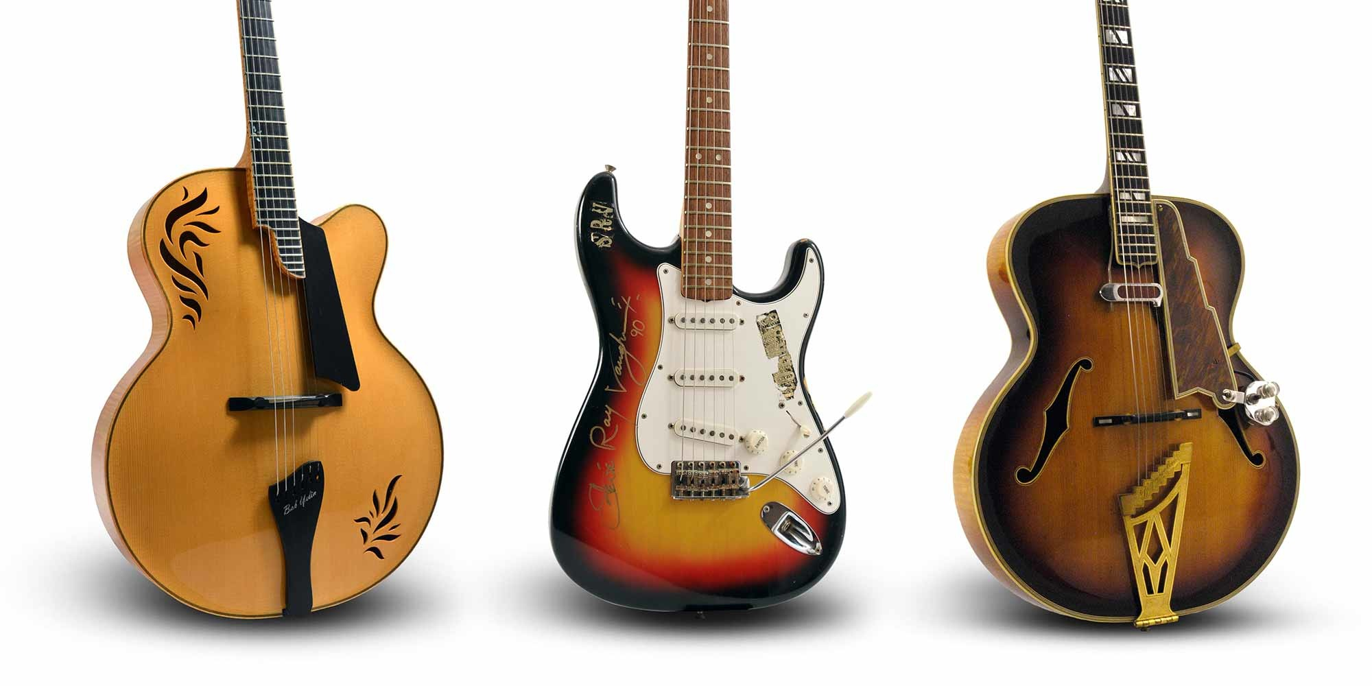 Guitars from SRV, EVH, Django Reinhardt and Others Hit