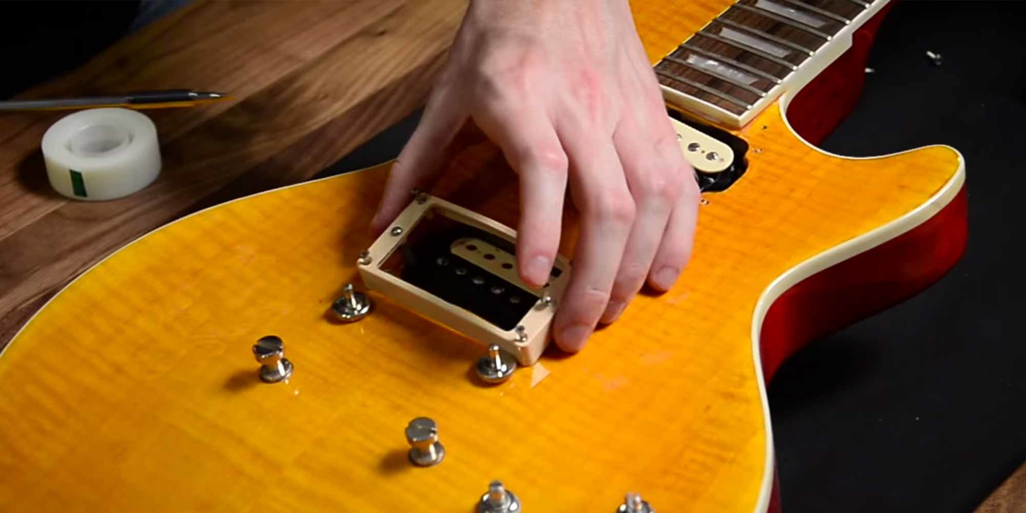 A Brief Introduction to Swapping Guitar Pickups