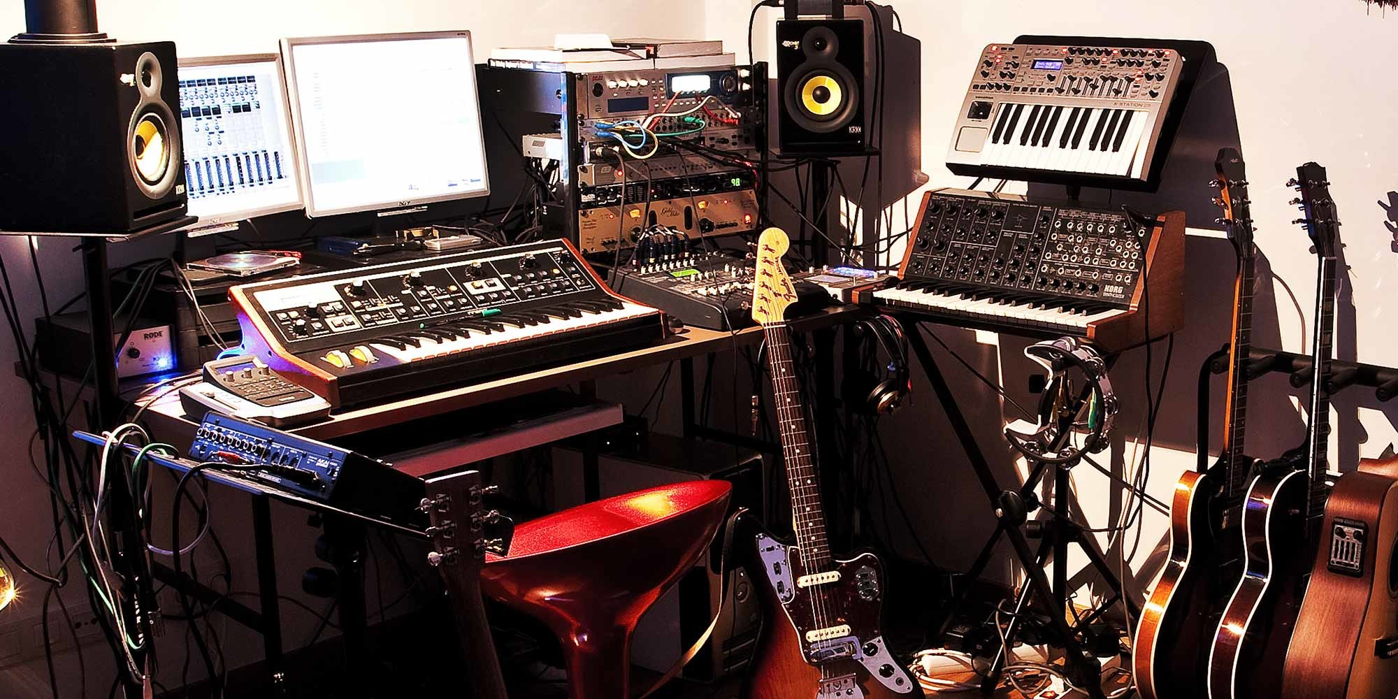 Home Guitar Studio Design Next Step Home Studio Moves 5 Ways To Improve Your
