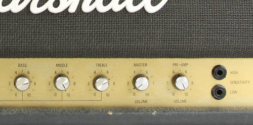 Marshall JCM 800 2204 Volume Controls