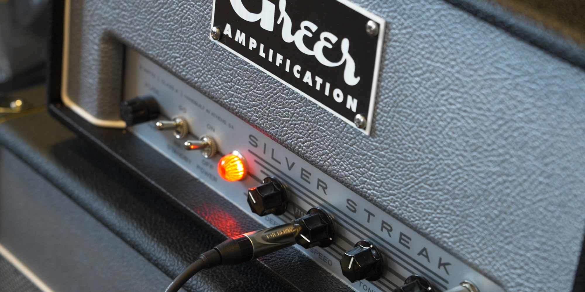 Greer Amps Super Hornet and Silver Streak Amplifier