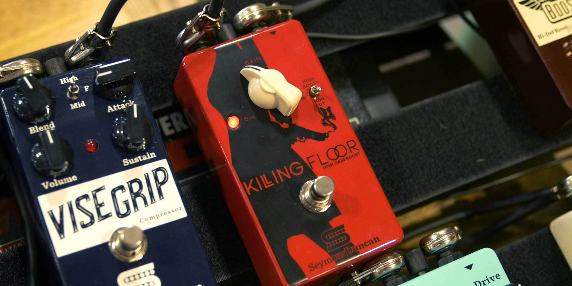 Seymour Duncan Paladium, Forza, and Killing Floor Pedals