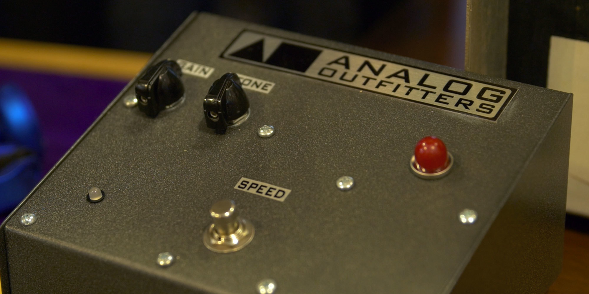 Analog Outfitters Road Amp Combo & Leslie Pedal