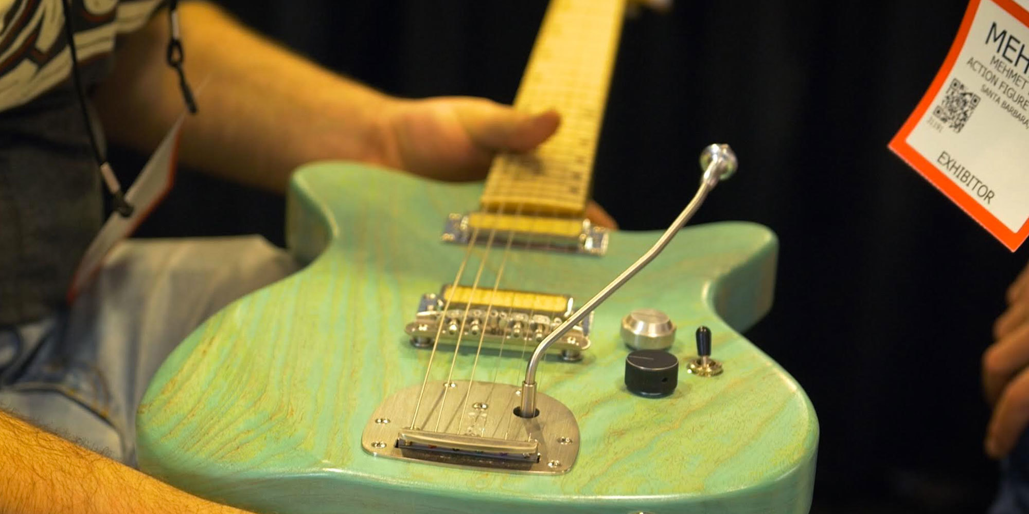 Action Figure Studios NFE Guitars & Amplifier