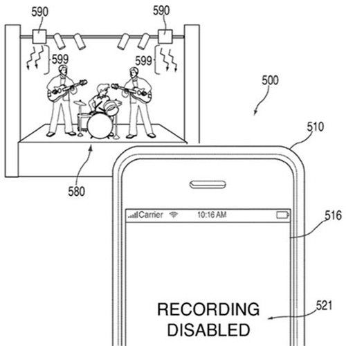 Diagram from the Apple patent