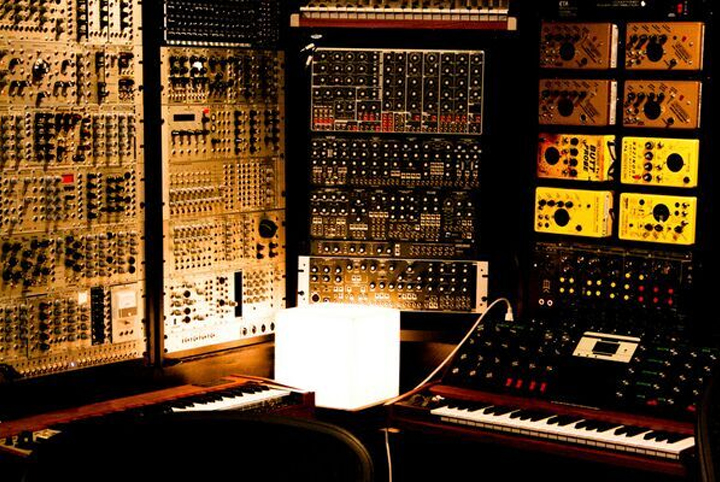 Trent Reznor's collection of modular synths