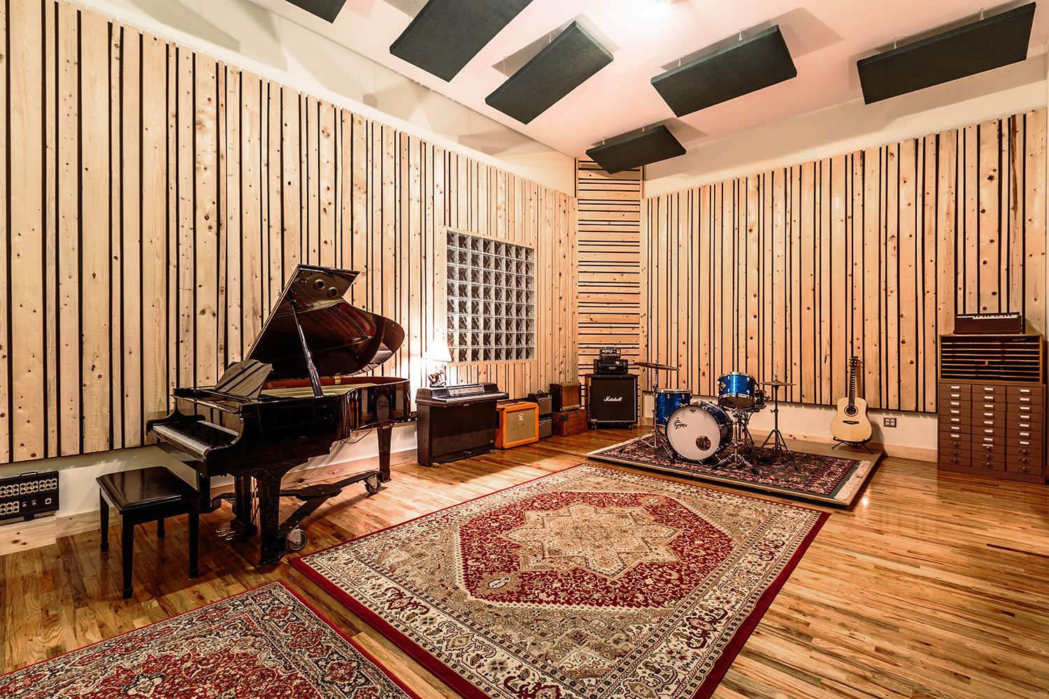 Show Us Your Space The Aggregate Studios A 3 In 1 Reverb