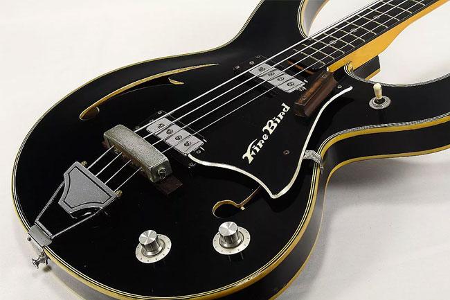 it\u0027s not all teisco a look at lesser known \u002760s reverb newsc 1968 teisco firebird bass