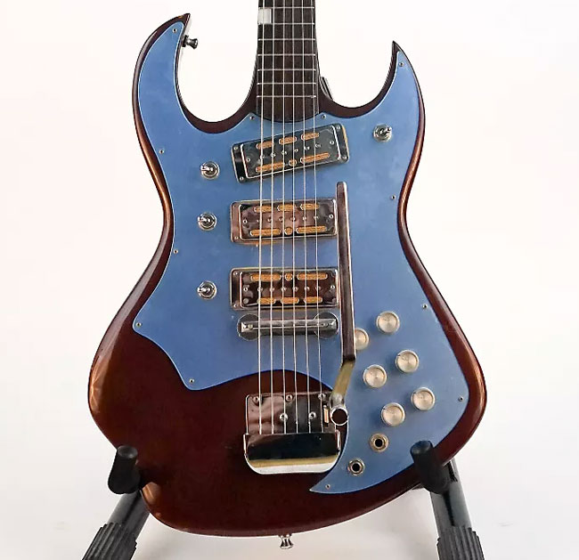 Asian guitars of the 1960 s