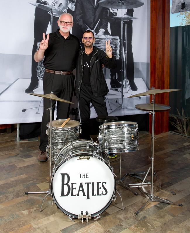 Gary Astridge Ringo Starr