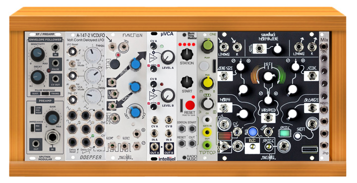 Eurorack Templates: Building a Basic Synth, Effects | Reverb News